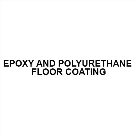 Epoxy and Polyurethane floor coating