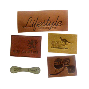 Leather Labels Roll