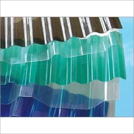 Industrial Corrugated Sheet Resin