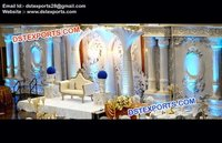 Grand Wedding Reception Stage