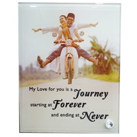 Sublimation Glass Photo Frame (VBL-31)
