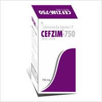 Cefzim-750 Inj
