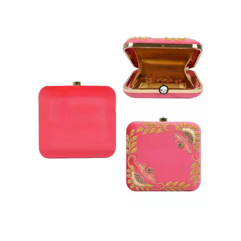 Women's Peach Clutch Online