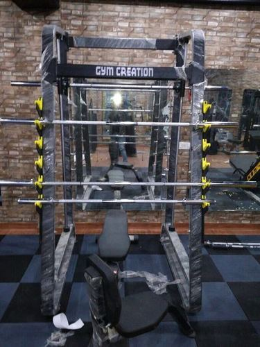 Smith With Squat Gym Machine