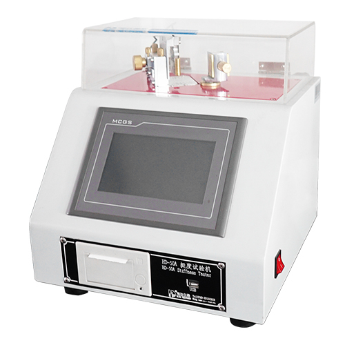 Digital display stiffness tester