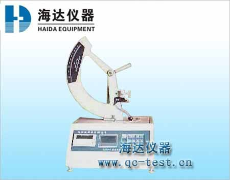 Shoe heel impact fatigue tester