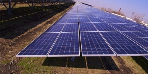 On Grade Solar Power Station Project