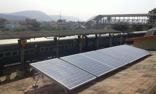 8 Kilowatt Solar Power Station Project