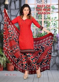 PRINTED COTTON DRESS MATERIALS AT WHOLESALE RATE