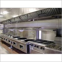 SS Air Kitchen Ducting System