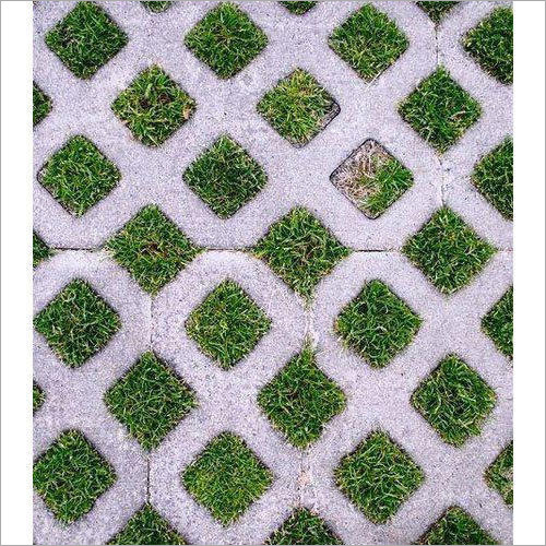 Grass Concrete Paver Tile