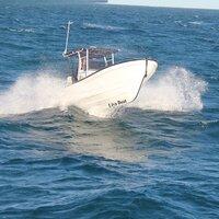 Liya 7.6m Fiberglass Panga Fishing Boats Sprot Tour Boat For Sale