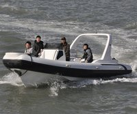 Liya 7.5m/25ft rigid hull  hypalon inflatable rib boat