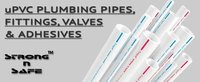 upvc plumbing pipes fittings valves adhesives