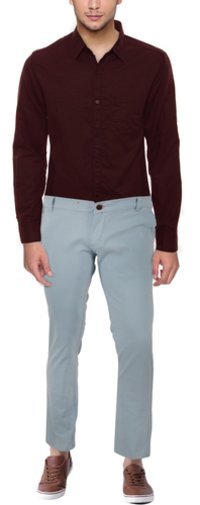 Casual Trouser Sky Blue