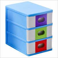 Plastic Three Stage Storage Cabinet