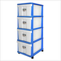 Four Stage Plastic Cabinet