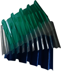 Corrugated Poly Carbonate Sheets