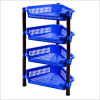 Plastic Four Stage Corner Rack