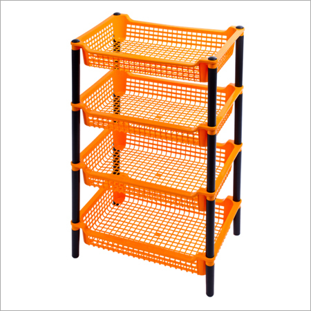 4 Stage Plastic Racks