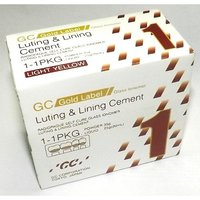 GIC Luting Cement: Gold Label 1(1-1 Pack)-Luting and Ling (Big Pack) (Powder-35g; Liquid-25g)