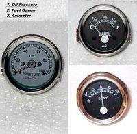 D.B Oil pressure & Ammeter & Fuel