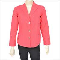 Ladies Full Sleeve Cotton Twill Jacket