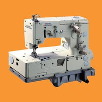 1 or 2 Needle Flat Bed Chain Stitch Picotting Sewing Machine