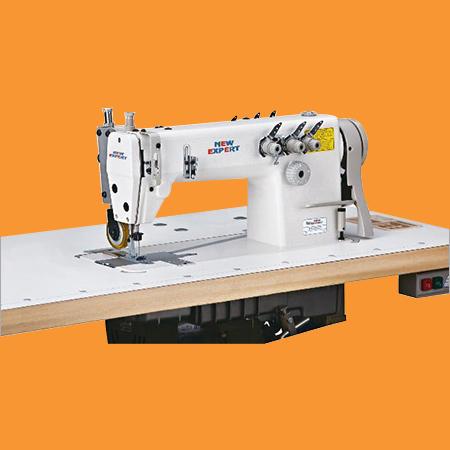 Three Needle Double Chain Stitch Sewing Machine