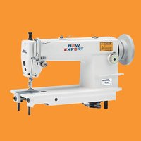 High Speed Large Hook Single Needle Flatbed Lockstitch Sewing Machine