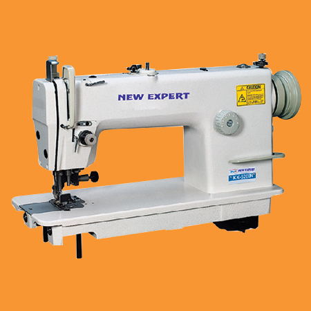 High Speed Single Needle Flatbed Lockstitch Sewing Machine With Cutter