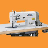 High Speed Double Needle Flatbed Lockstitch Sewing Machine
