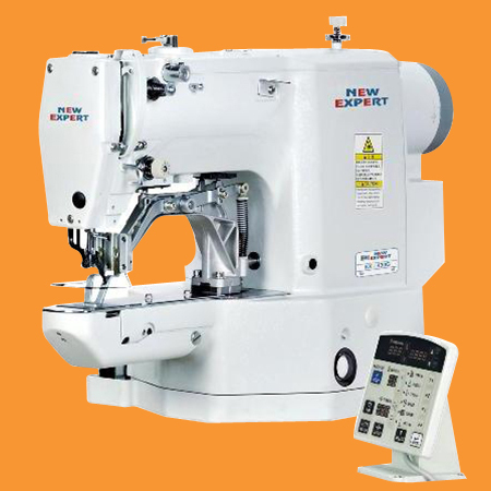 Electronic Direct Drive Bartack Machine
