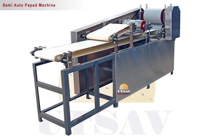 Semi Auto Appalam Machine
