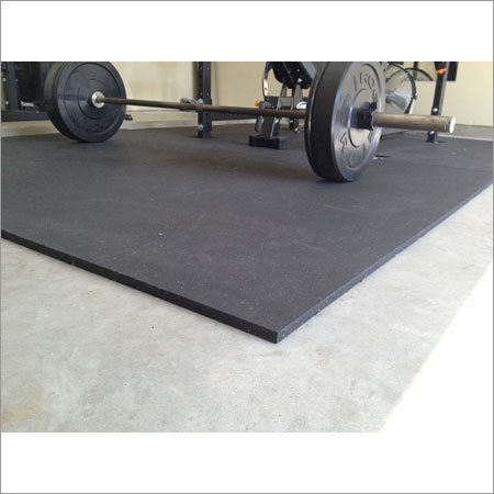Heavy Gym Rubber Mat