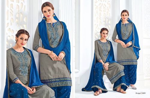 Two In One Pattern Salwar Suit