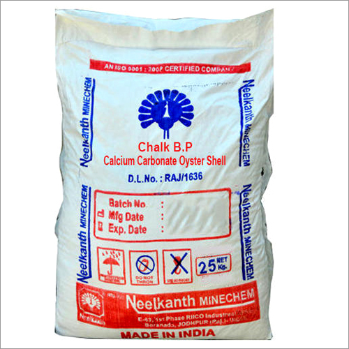 Calcium Carbonate Oyster Shell Chalk