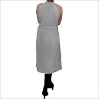 Hdd 715 03 Maternity Dress With Belt Back
