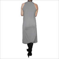 Hdd-715-03-Maternity Dress Without Belt-Back
