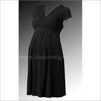 HYMD1612-Mock Wrap  Dress