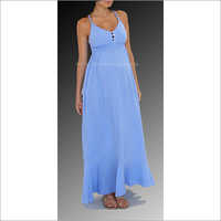 HYMD1624 - Ankle length strap gown