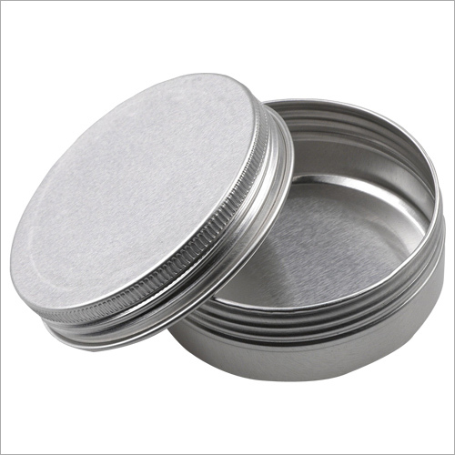 Round Metal Containers