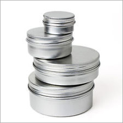 Round Metal Tin Containers