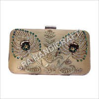 Ladies Floral Print Clutch Bag