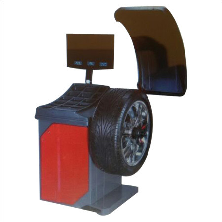 Video Graphics Wheel Balancer