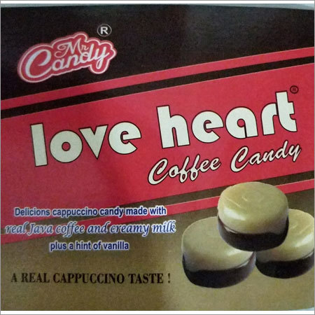 Love Heart coffee Candy