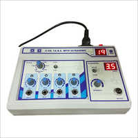 4 Channel TENS With Ultrasonic Machine