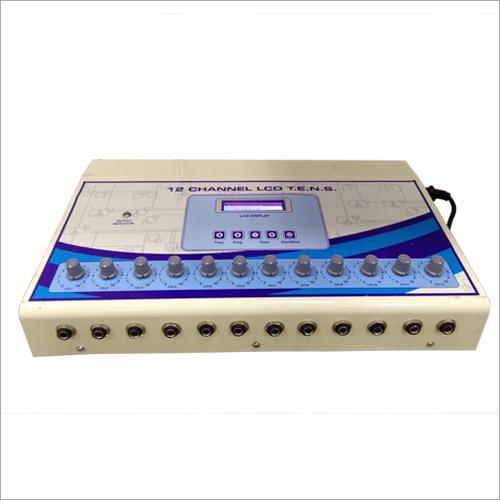 12 Channel LCD TENS Machine