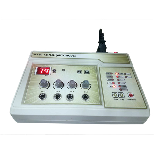 Digital 4 Channel Auto Mode TENS Machine