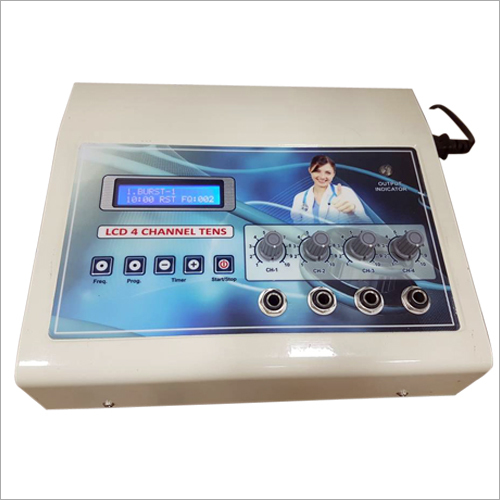 LCD 4 Channel TENS Machine